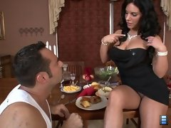 Cruel Games: Mistress Bella Reese has been starving her slave for days. She has just given him the choice to enjoy a lavish meal o